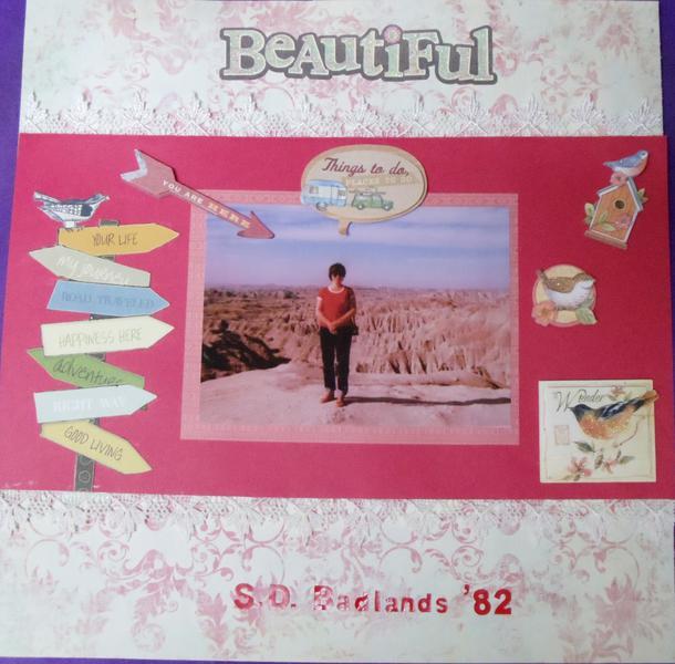 Beautiful S.D. Badlands '82