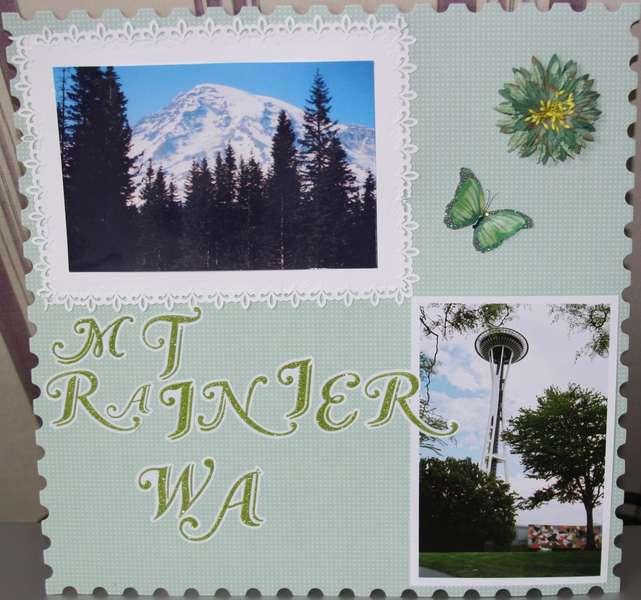 Mt. Rainier WA.