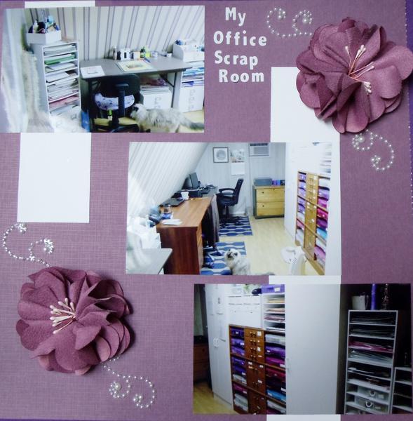 My Office/Scrap Room
