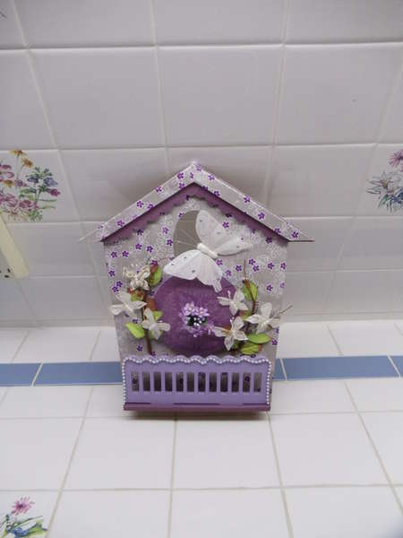 Purple Wall hanging