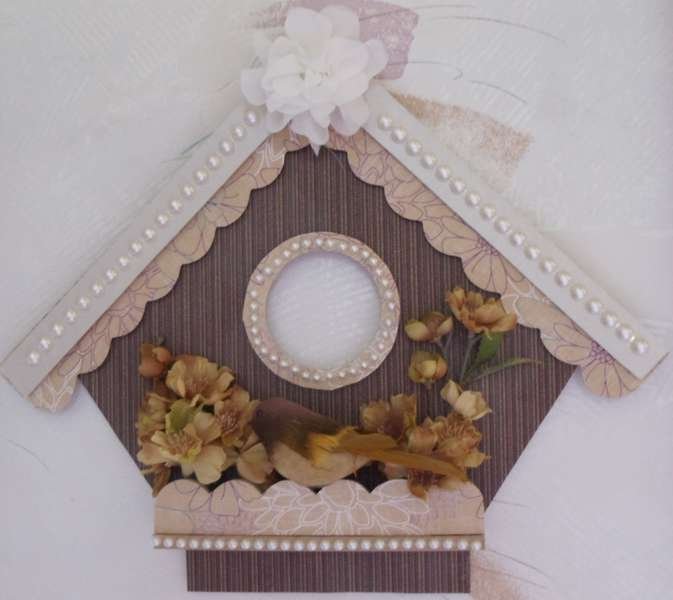 Brown Birdhouse I'm keeping for us