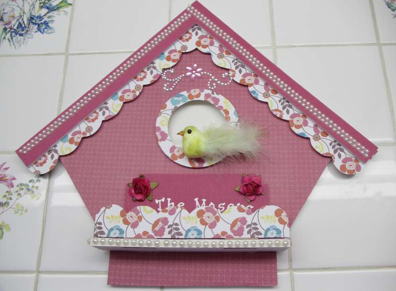 Another birdhouse hanger