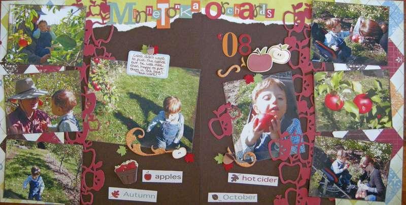 Minnetonka Orchards 2 Page Layout