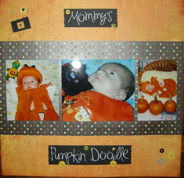 Mommy's Pumpkin Doodle