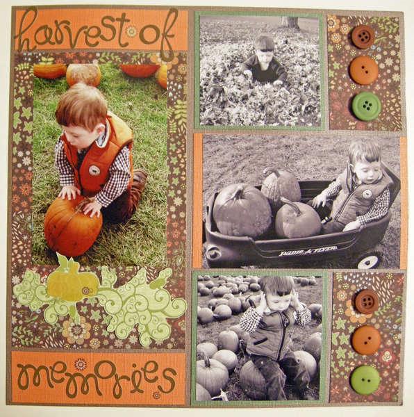 harvest of memories