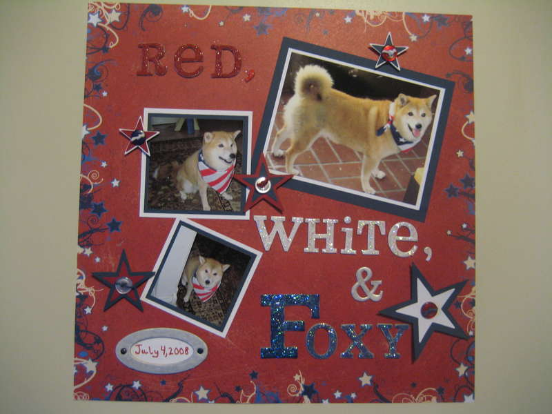 Red, White, and Foxy