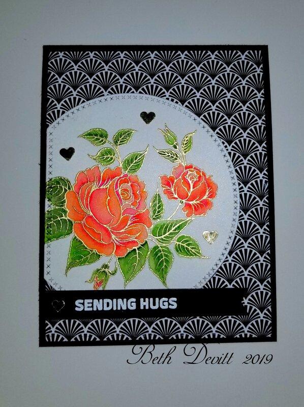 Gina K Peaceful Roses in Peach