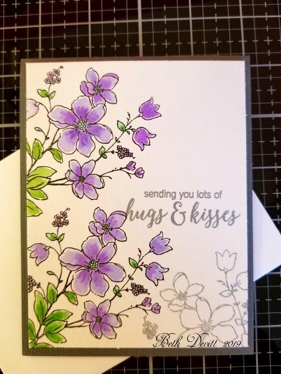 Ebullient Flowers in Lavender