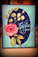 Tim Holtz Bloom 'Thinking of You'