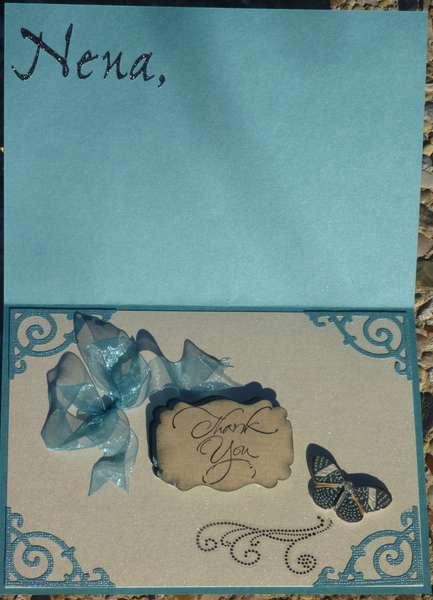 Linen Closet Friends Thank You Card