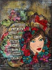 Prima Bloom Girl Canvas