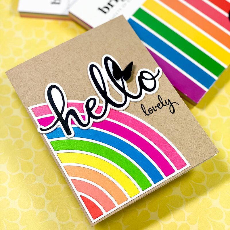 Hello Lovely Card