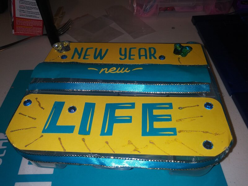 This is an Embellishment Box i made.