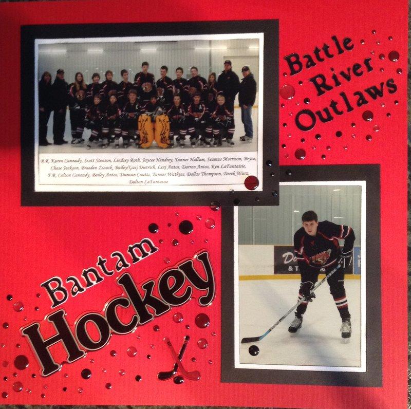 Bantam hockey