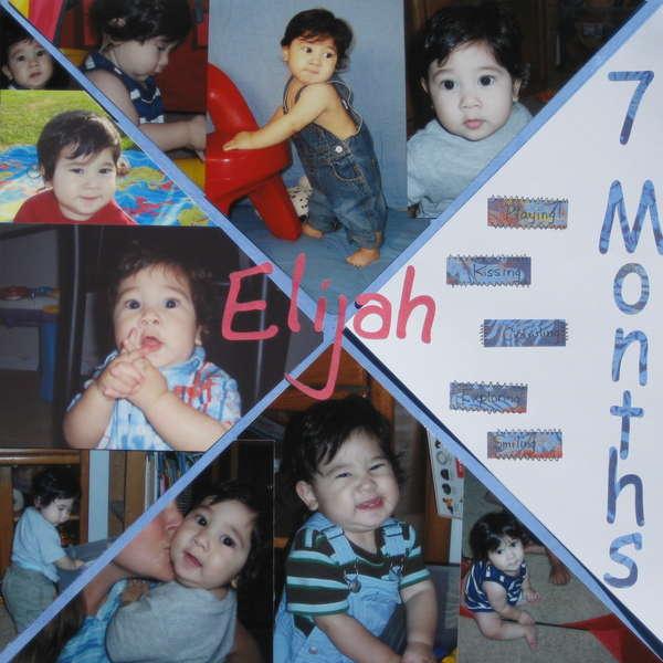 Elijah 7 Months