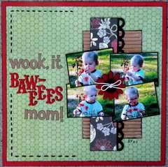 Wook, it Baweees mom!