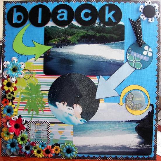 Road to Hana - page 1 - Black Sand Beach