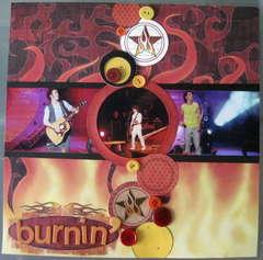Burnin' (up) page 1 - Jonas Brothers