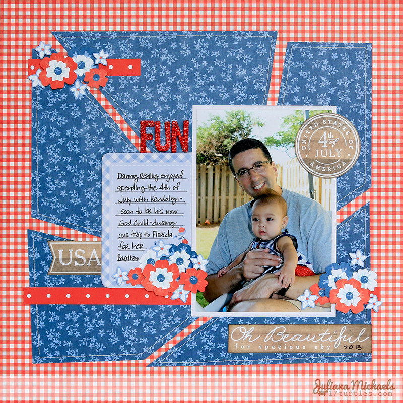 4th of July Fun *Pebbles Inc Americana*