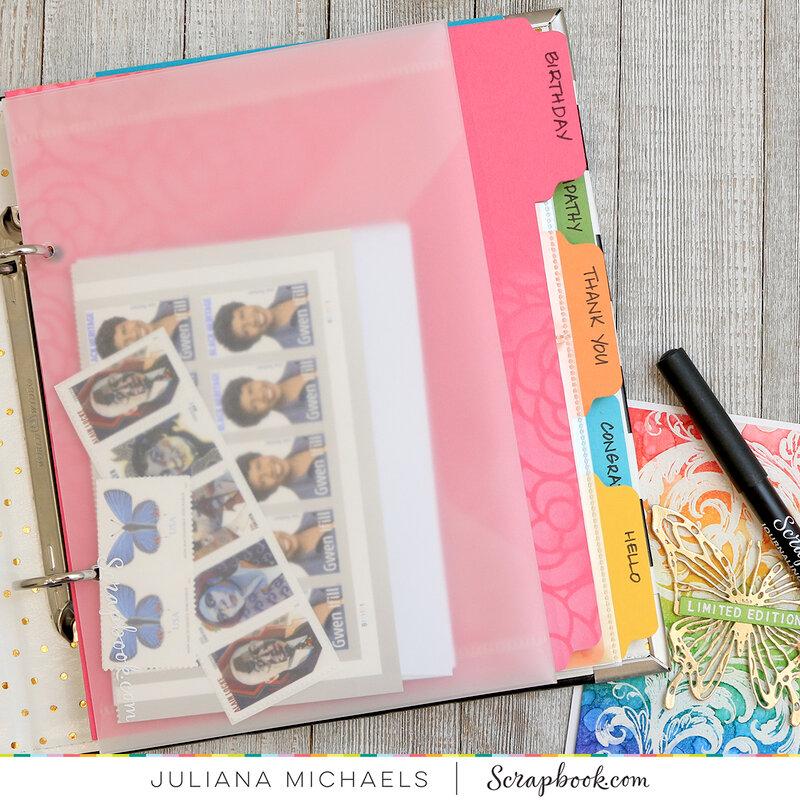 Handmade Card Sending Kit