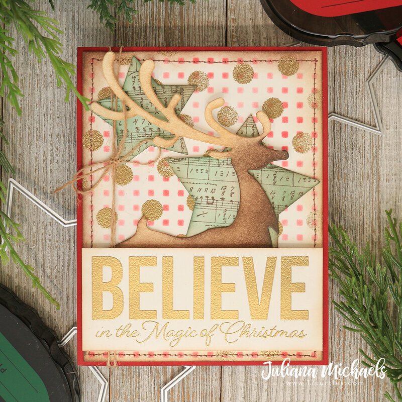 Believe In The Magic Christmas Card