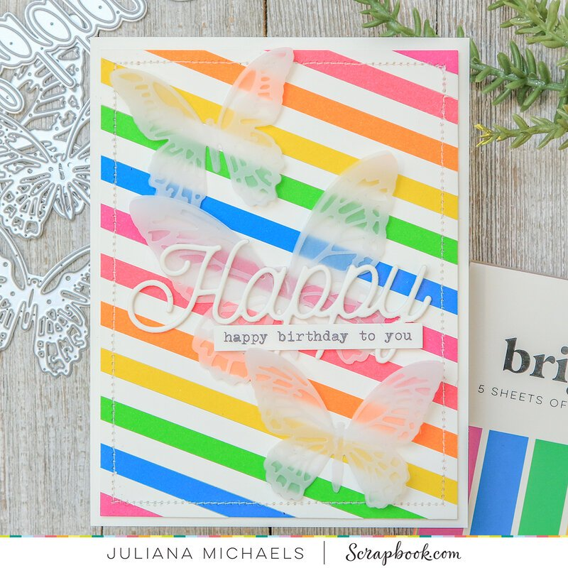 Happy Birthday Card | Brights Paper Pads