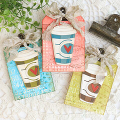 Coffee Gift Card Holders