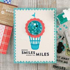 Smiles Hot Air Balloon Shaker Card *Jillibean Soup*