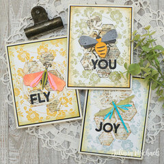 Funky Insects Cards