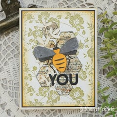 Funky Insects Card | Bee You