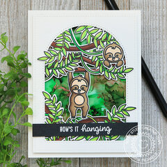 How's It Hanging Sunny Studio Stamps