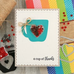 Cup of Thanks Coffee Shaker Card *Jillibean Soup*