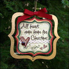 All Hearts Christmas Ornament