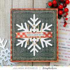 Joy Snowflake Card