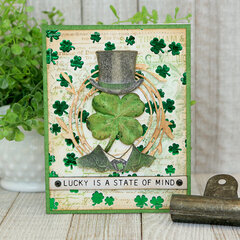 Lucky Is A State Of Mind Card