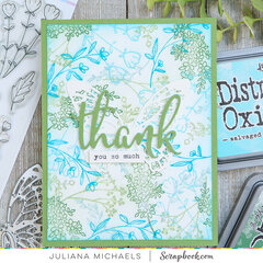 Thank You Card | Spring Sprigs Stamp Set