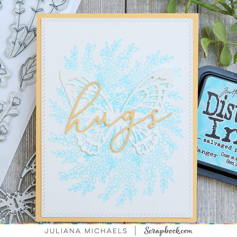 Hugs Card | Spring Sprigs Stamp Set