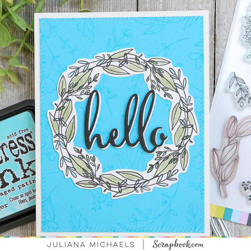 Hello Card   Spring Sprigs Stamp Set