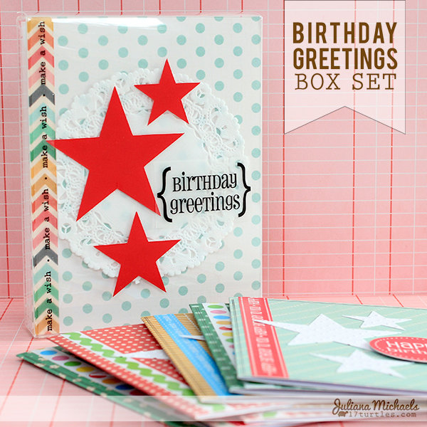 Birthday Greeting Box Set *SRM STICKERS*