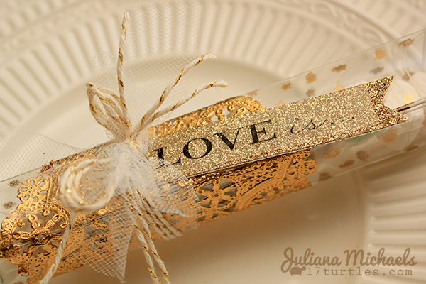 Gold Wedding Favors