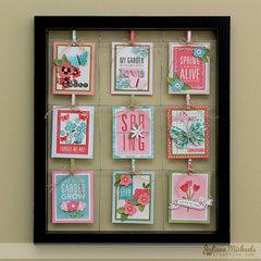Hello Spring Clip Frame *Pebbles Inc*