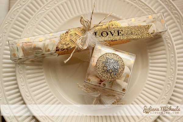 Gold Wedding Favors *SRM Stickers*