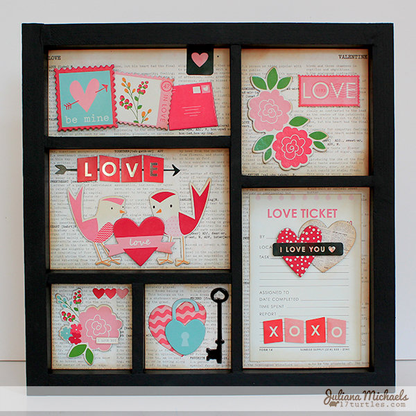 Love Birds Frame *PEBBLES INC*