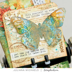 Joy Butterfly Memory Dex Card