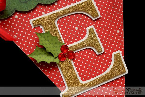 Noel Christmas Banner - Leaky Shed Studio