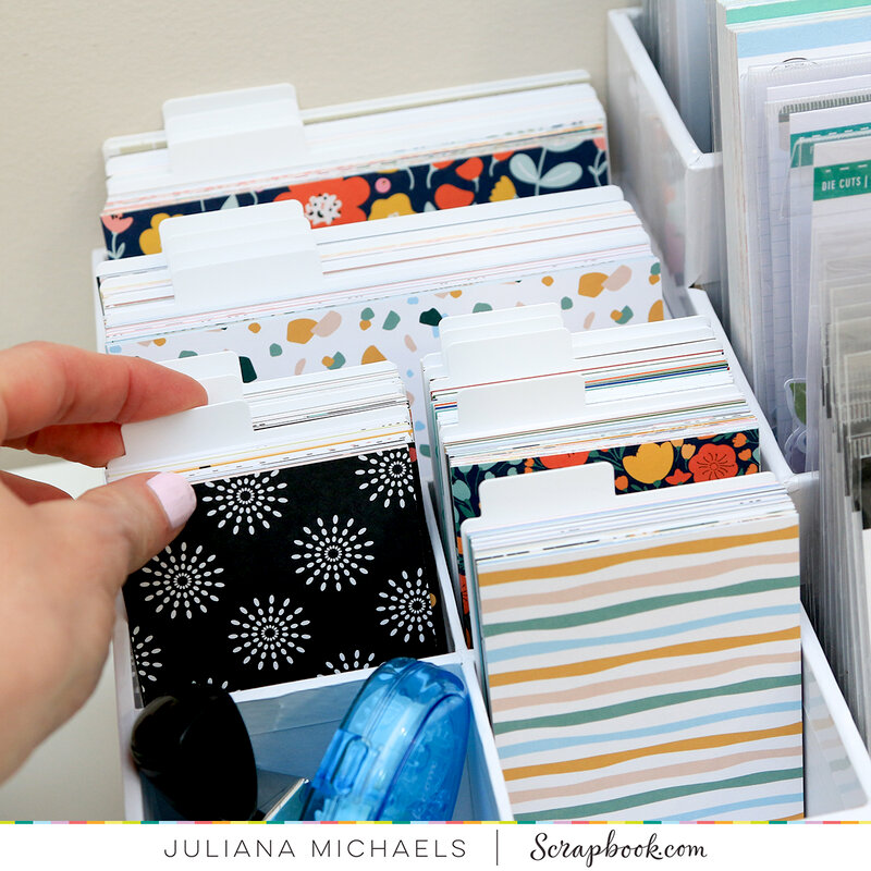 Scrapbook.com Craft Room Basics Pocket Card Organizer