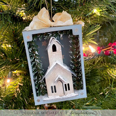 Paper Village Christmas Ornament