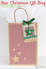 Star Christmas Gift Bag