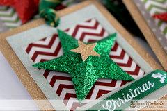 Star Christmas Gift Tags