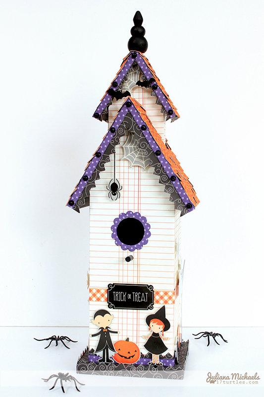 Trick Or Treat Birdhouse *Pebbles*